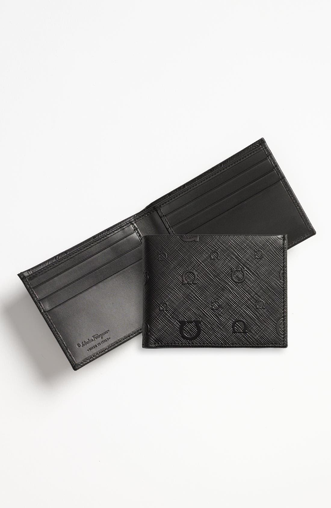 Alternate Image 1 Selected - Salvatore Ferragamo 'Apollo' Bifold Wallet