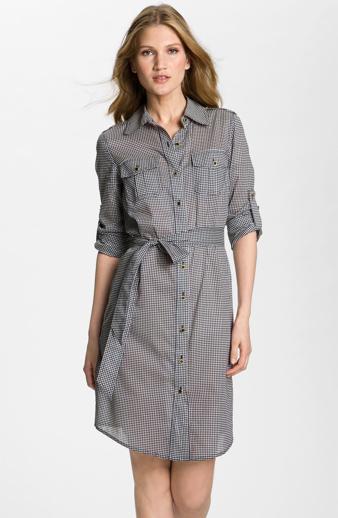 Main Image - Tory Burch 'Brigitte' Gingham Dress