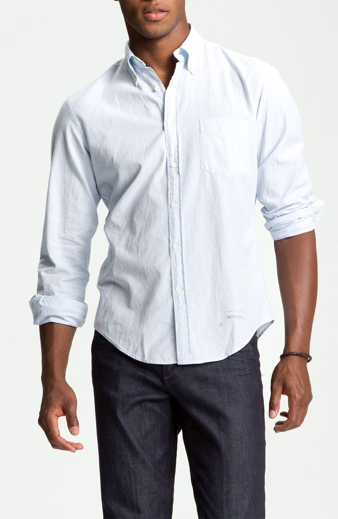 Alternate Image 1 Selected - Gant Rugger Shirt & Joe's Slim Straight Leg Jeans