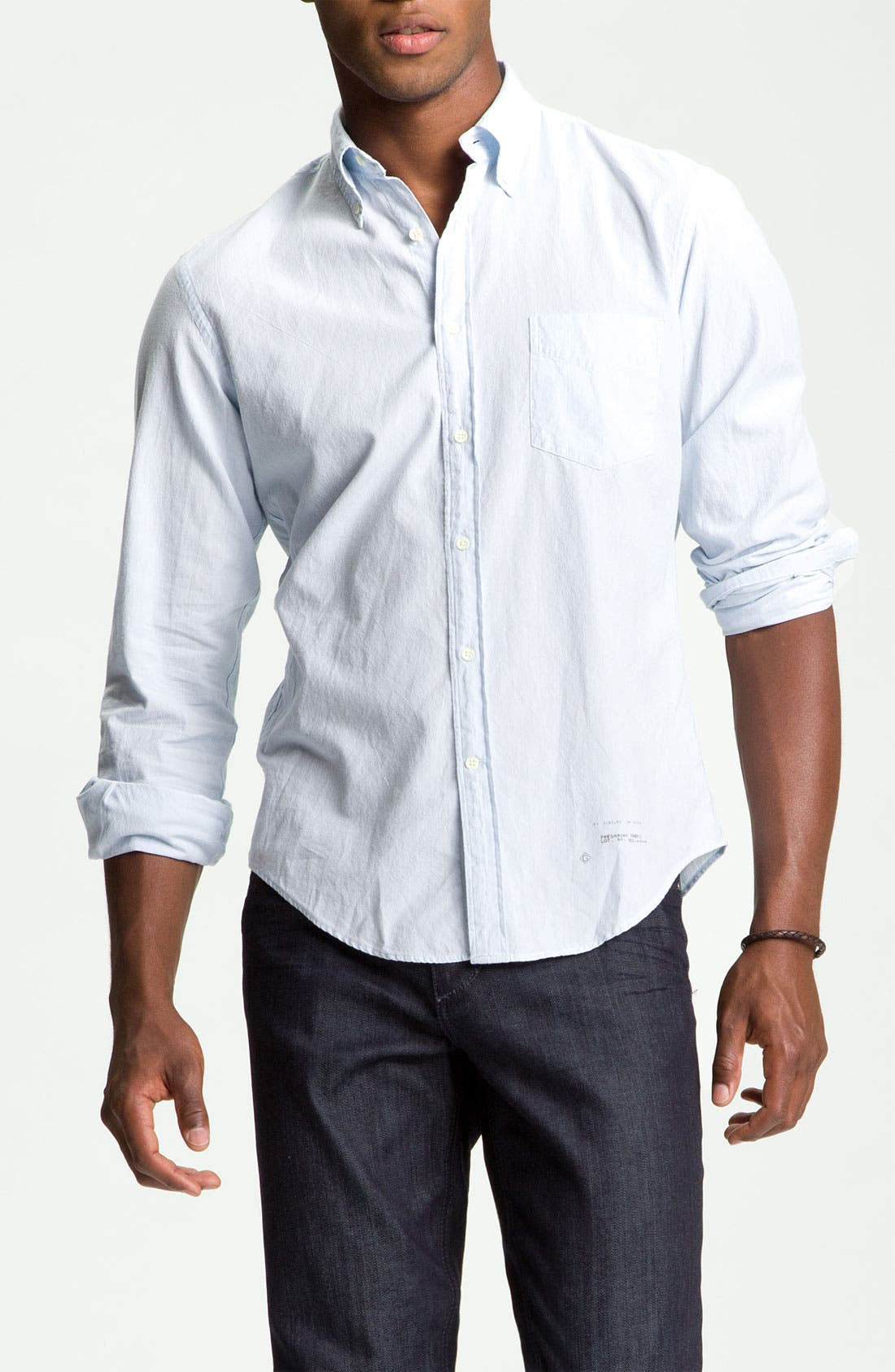 Main Image - Gant Rugger Shirt & Joe's Slim Straight Leg Jeans