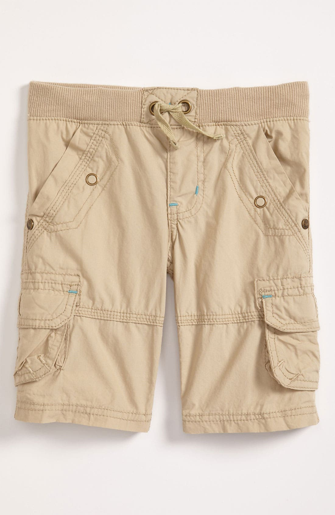 Alternate Image 1 Selected - Pumpkin Patch Ribbed Waist Cargo Shorts (Toddler)