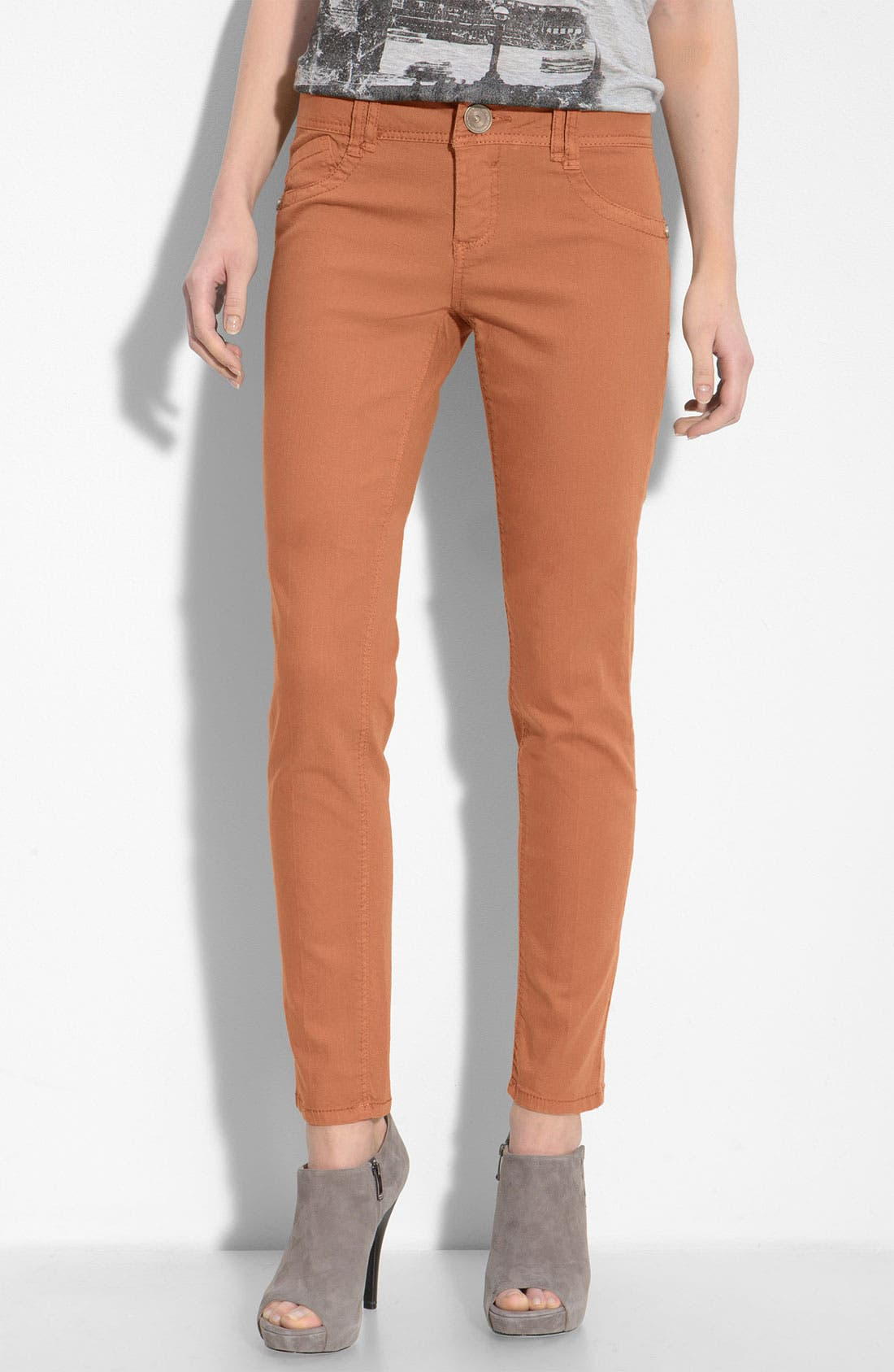 Main Image - Wit & Wisdom Color Skinny Jeans (Nordstrom Exclusive)