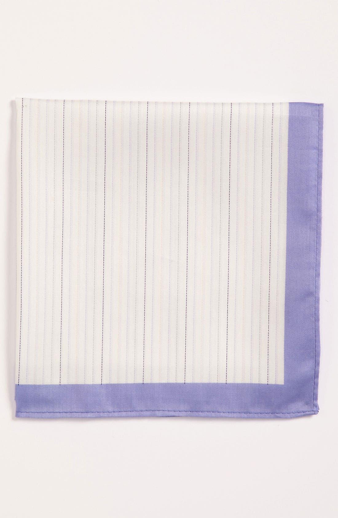 Alternate Image 1 Selected - Michael Kors Stripe Pocket Square
