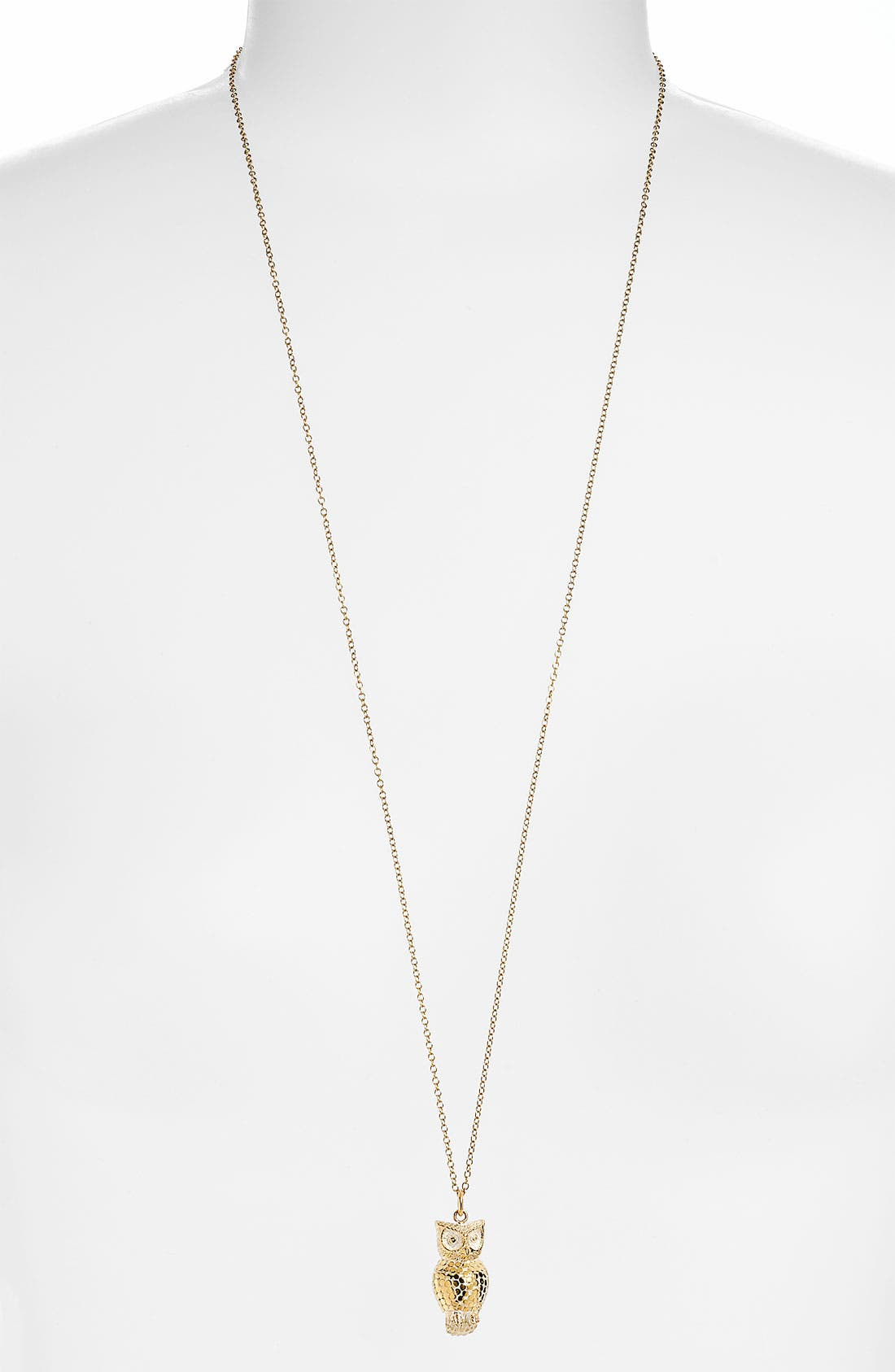 Main Image - Anna Beck 'Animals' Long Owl Pendant Necklace