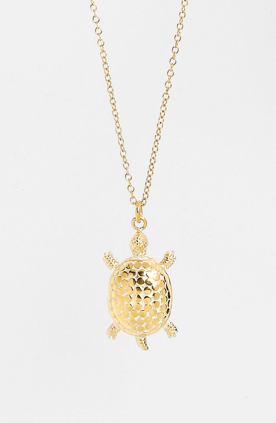 Main Image - Anna Beck 'Animals' Long Turtle Pendant Necklace