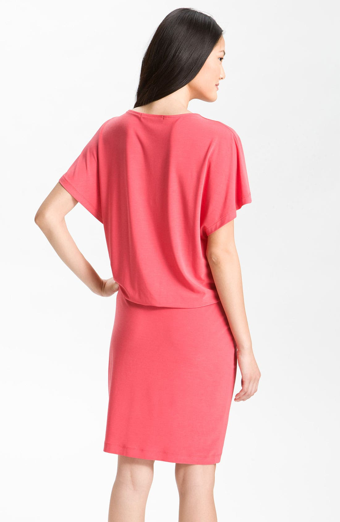Alternate Image 2  - Alex & Ava Knot Detail Blouson Jersey Dress