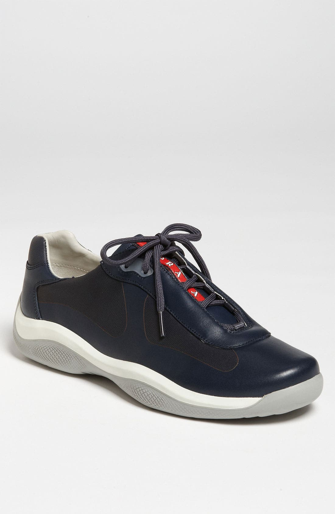 Alternate Image 1 Selected - Prada Leather Sneaker