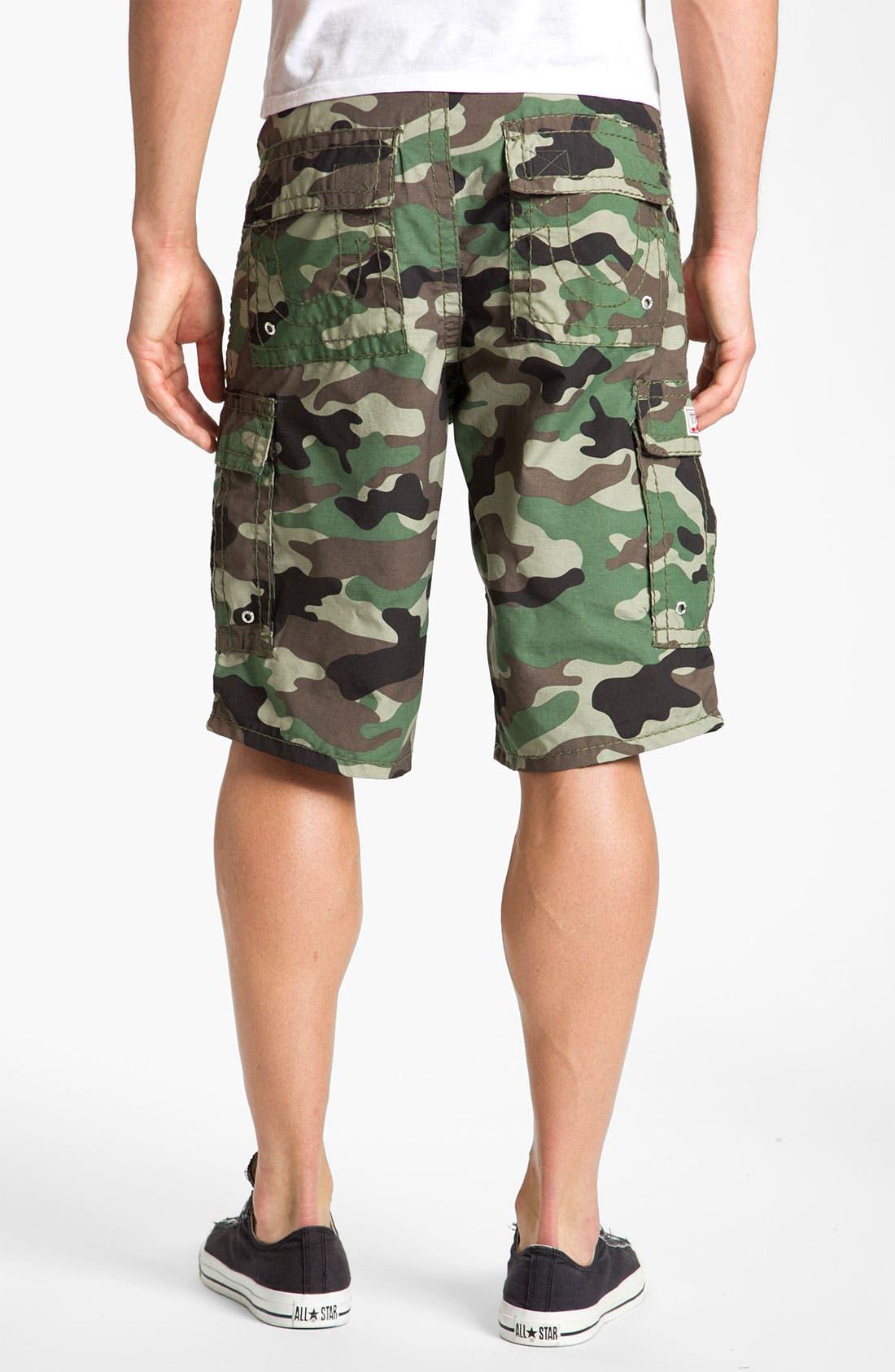 Alternate Image 2  - True Religion Brand Jeans Camo Cargo Shorts
