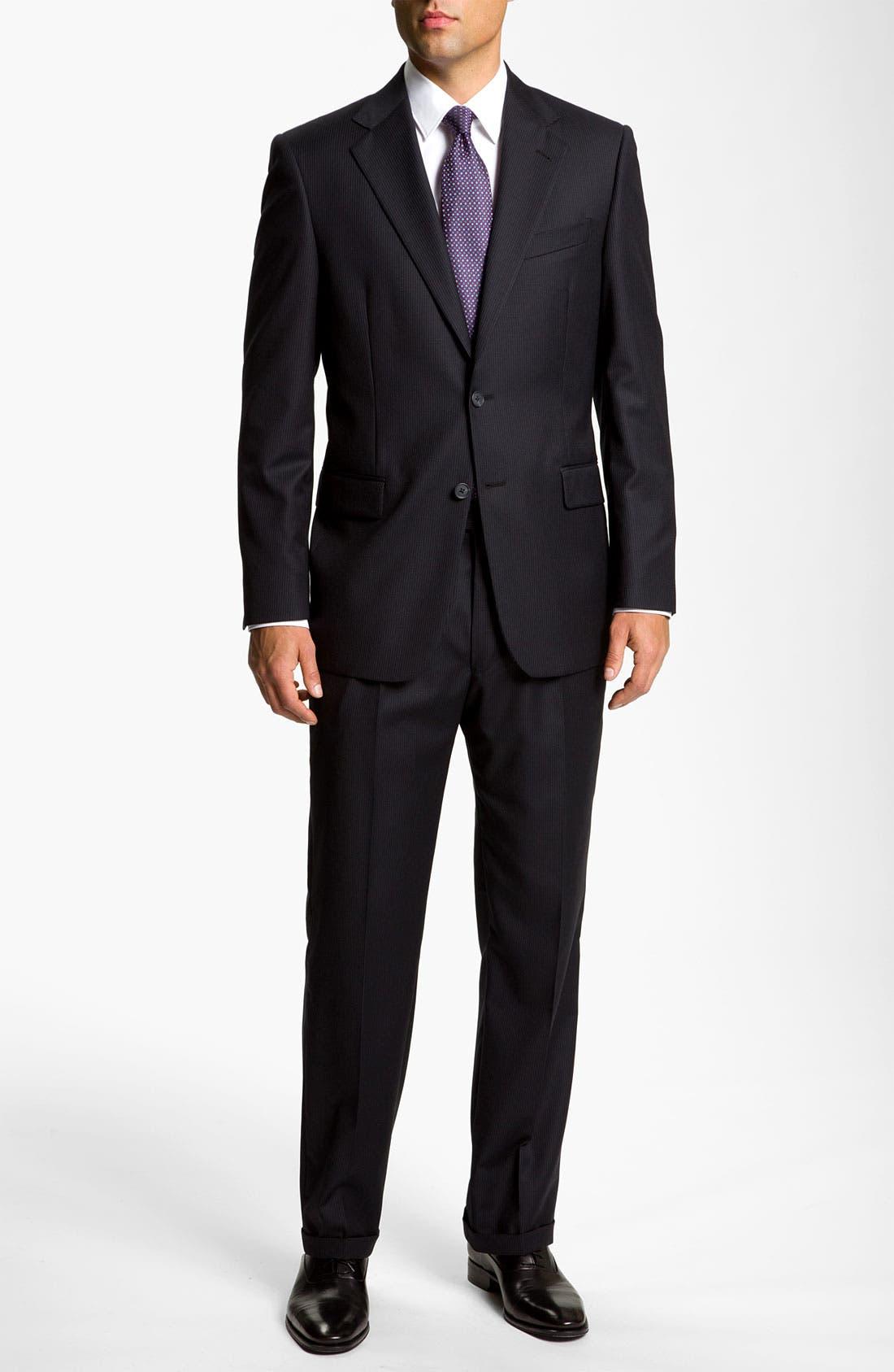 Alternate Image 2  - Joseph Abboud 'Signature Silver' Pinstripe Suit