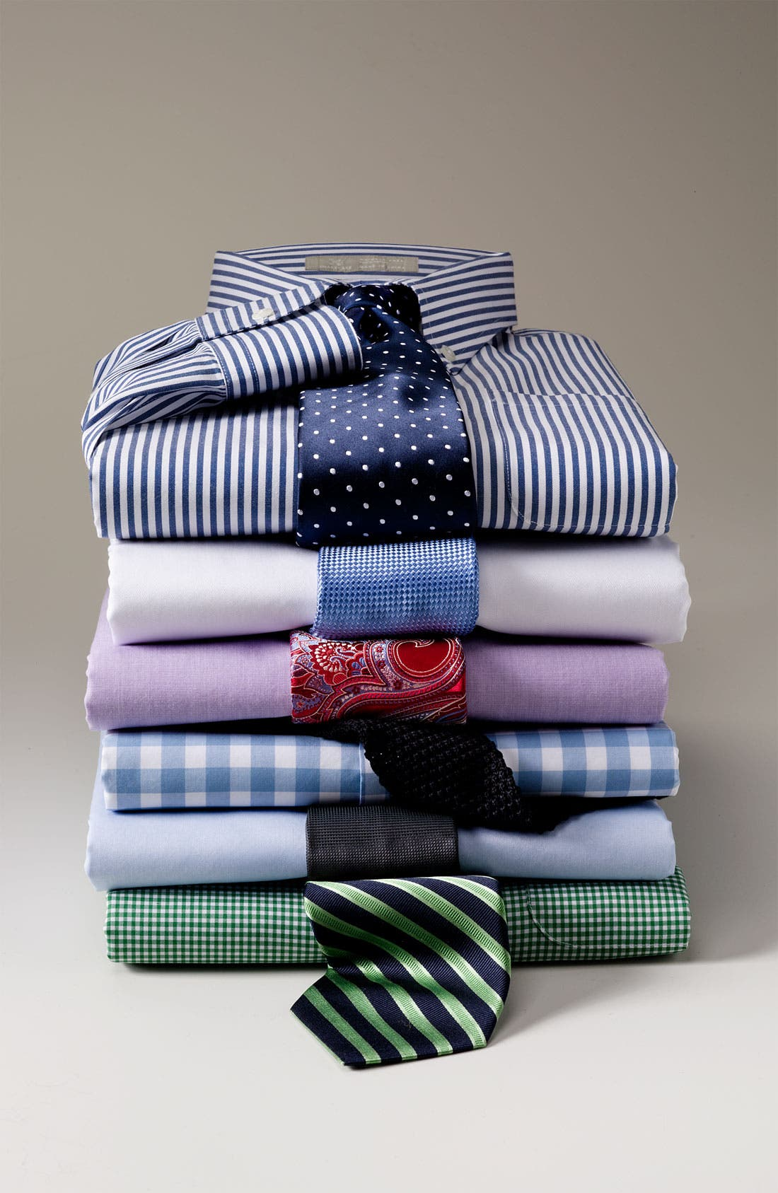 Alternate Image 2  - John W. Nordstrom® Traditional Fit French Cuff Dress Shirt
