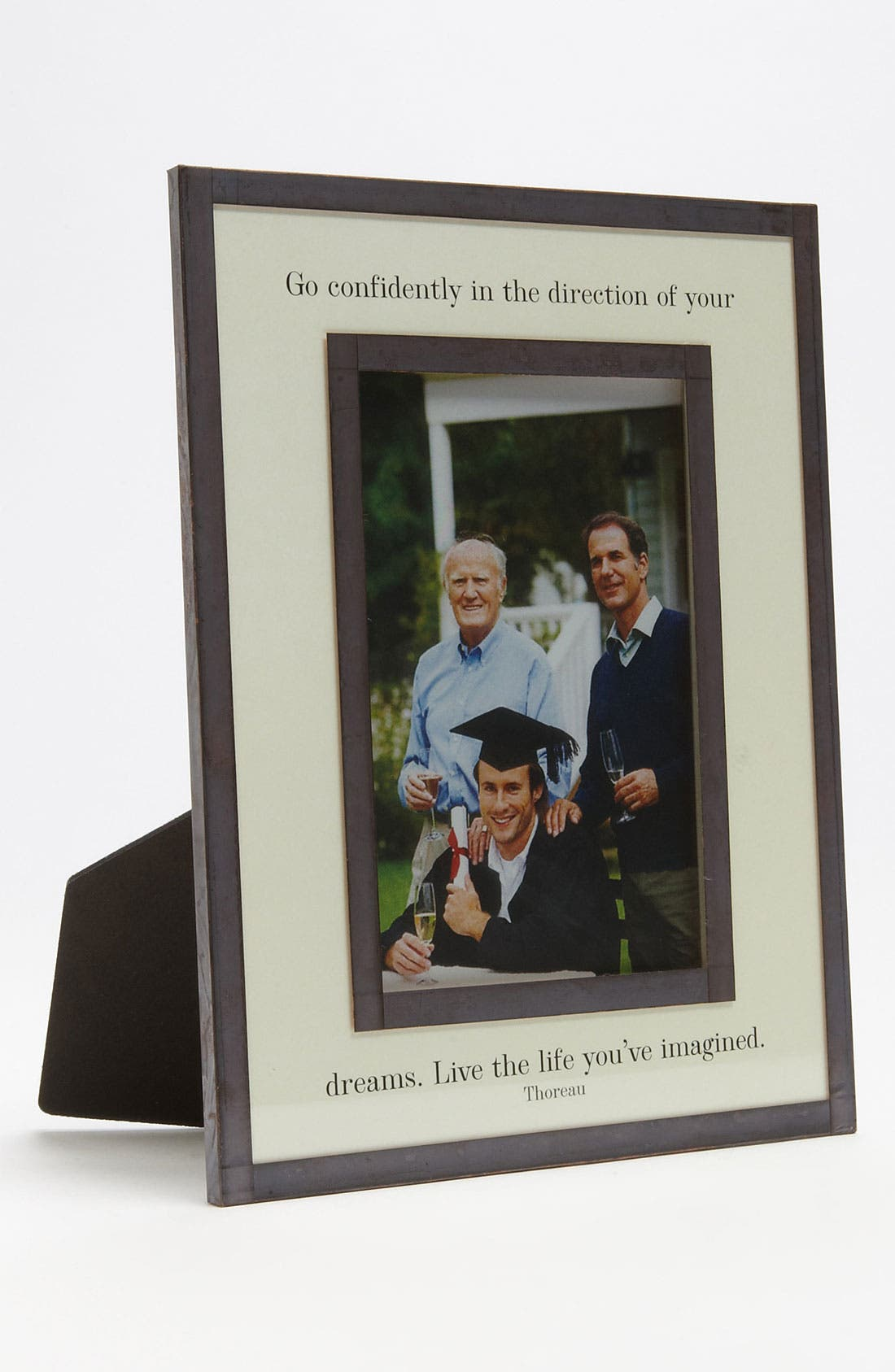 Main Image - Ben's Garden 'Go Confidently' Picture Frame (4x6)