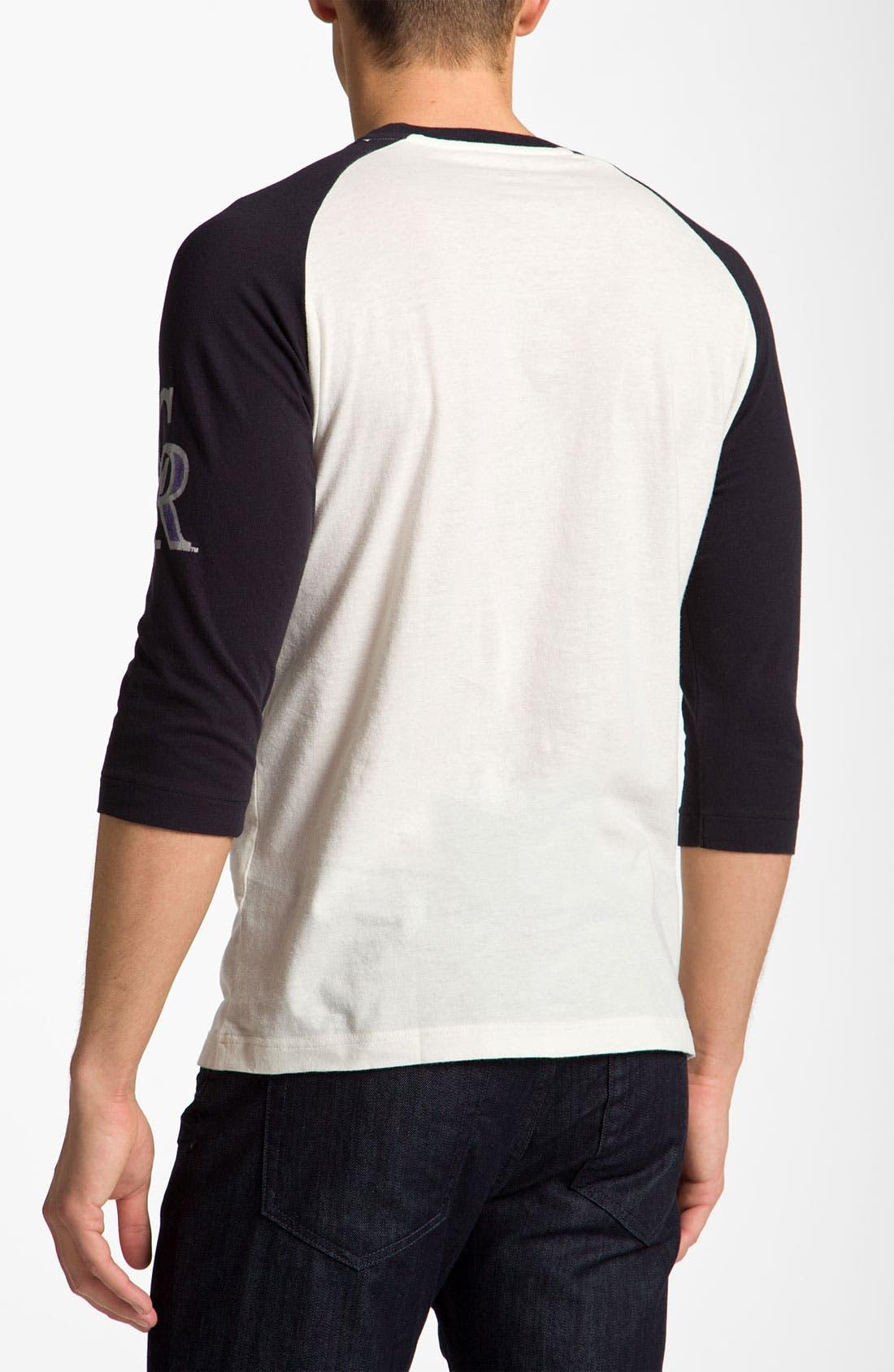 Alternate Image 2  - Wright & Ditson 'Colorado Rockies' Baseball T-Shirt