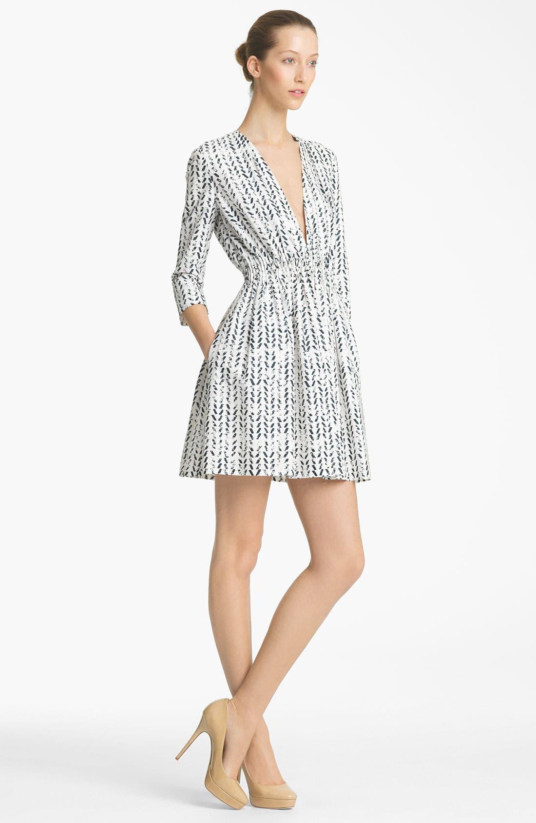 Alternate Image 1 Selected - Thakoon Print Poplin Dress