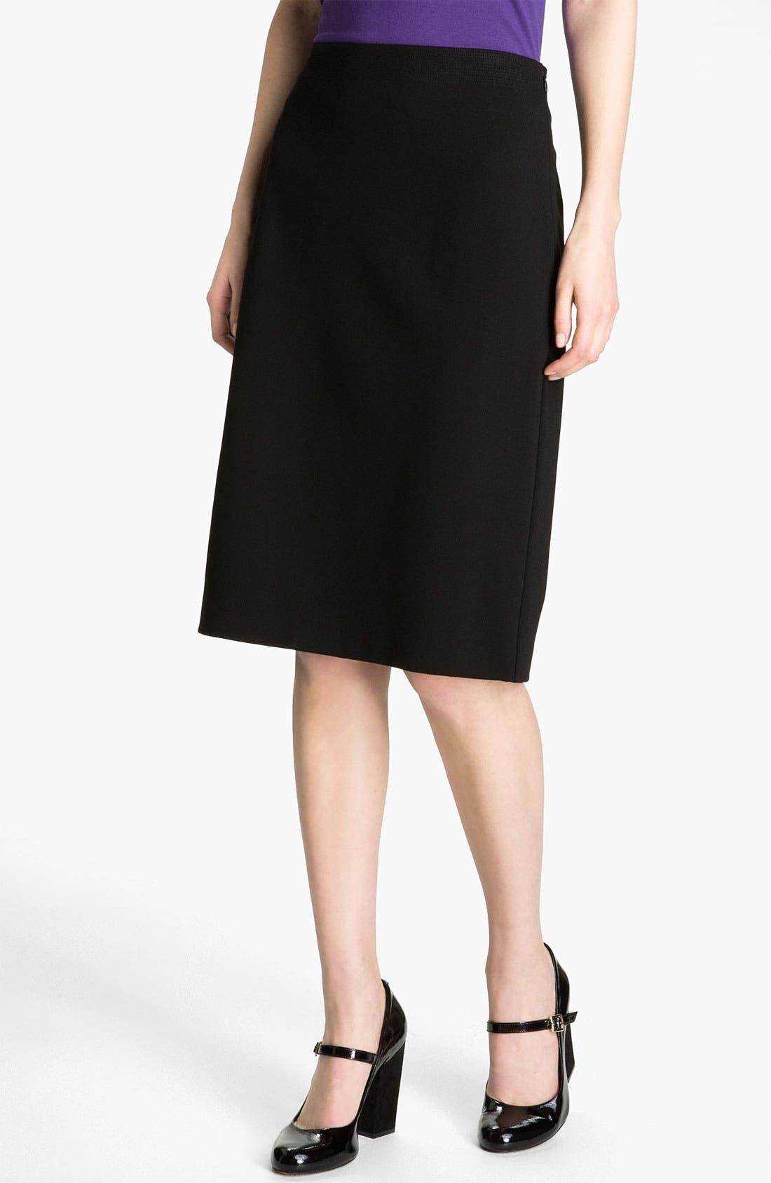 Alternate Image 1 Selected - Eileen Fisher Knit Skirt