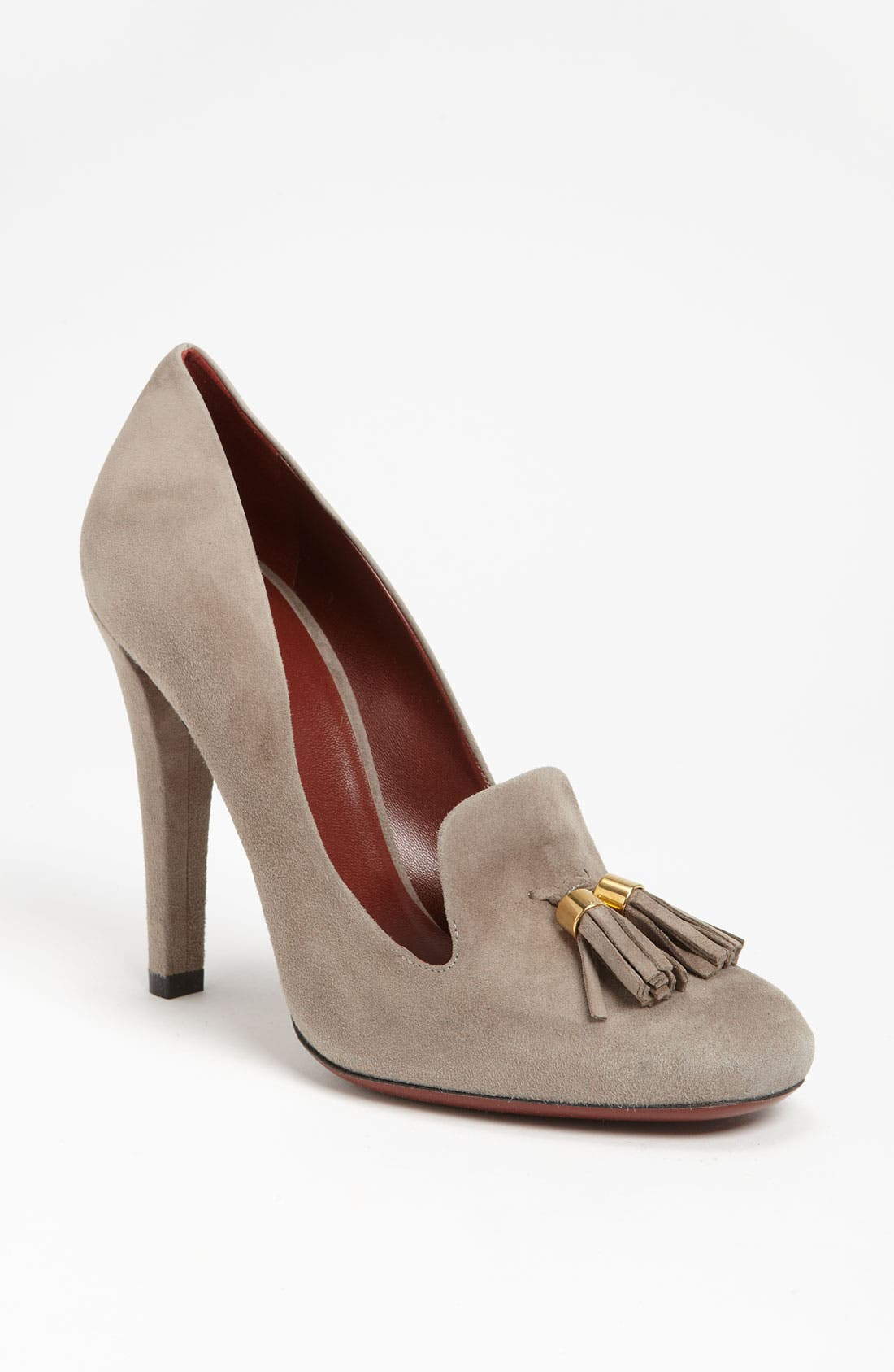 Alternate Image 1 Selected - Gucci 'Mischa' Loafer Pump