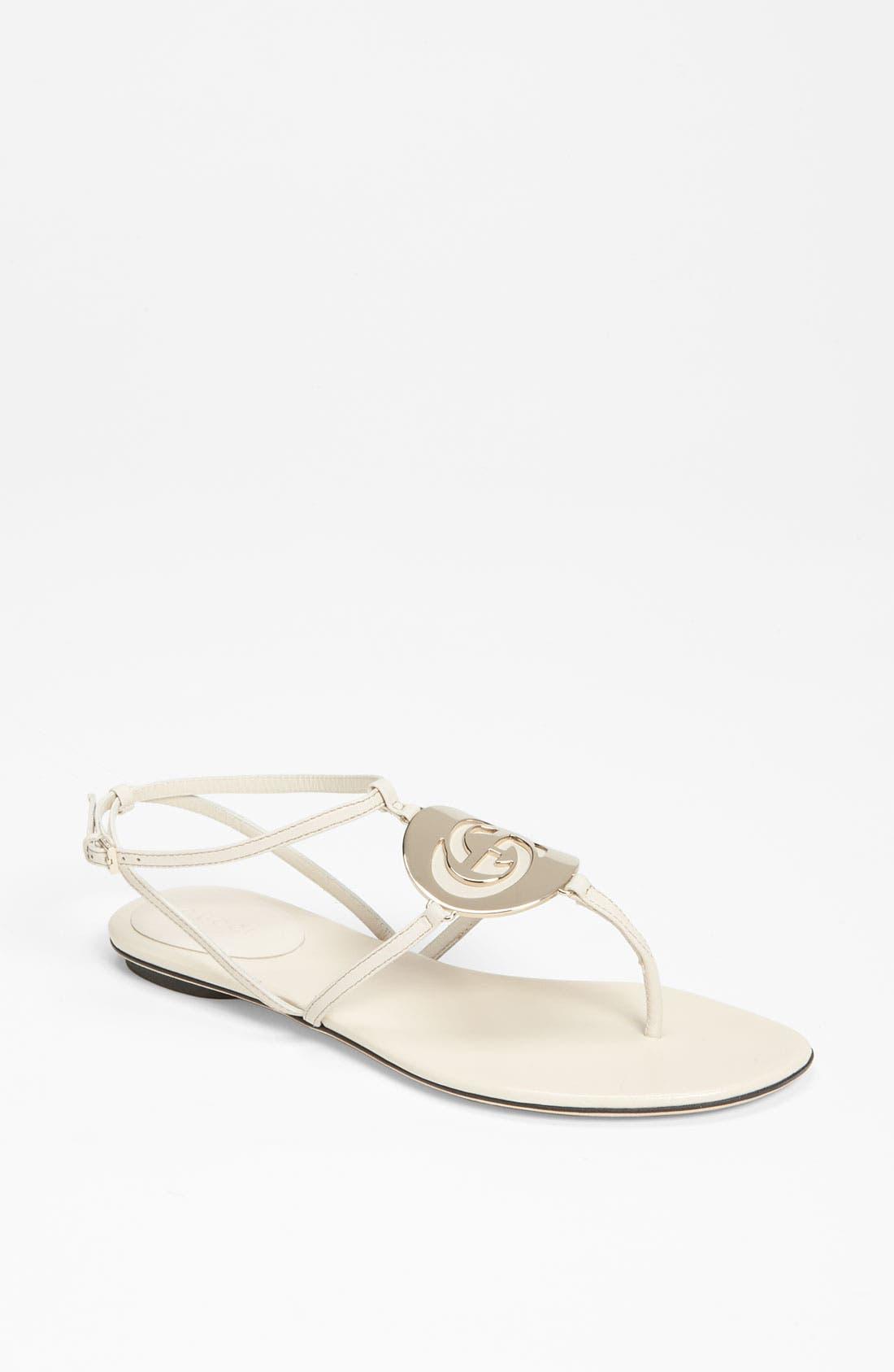 Main Image - Gucci 'GG' Sandal