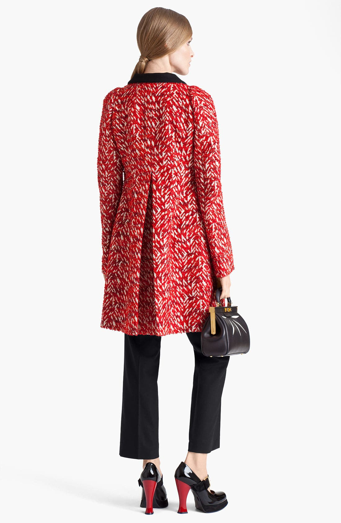 Alternate Image 6  - Marni 'Mini' Leather Frame Bag