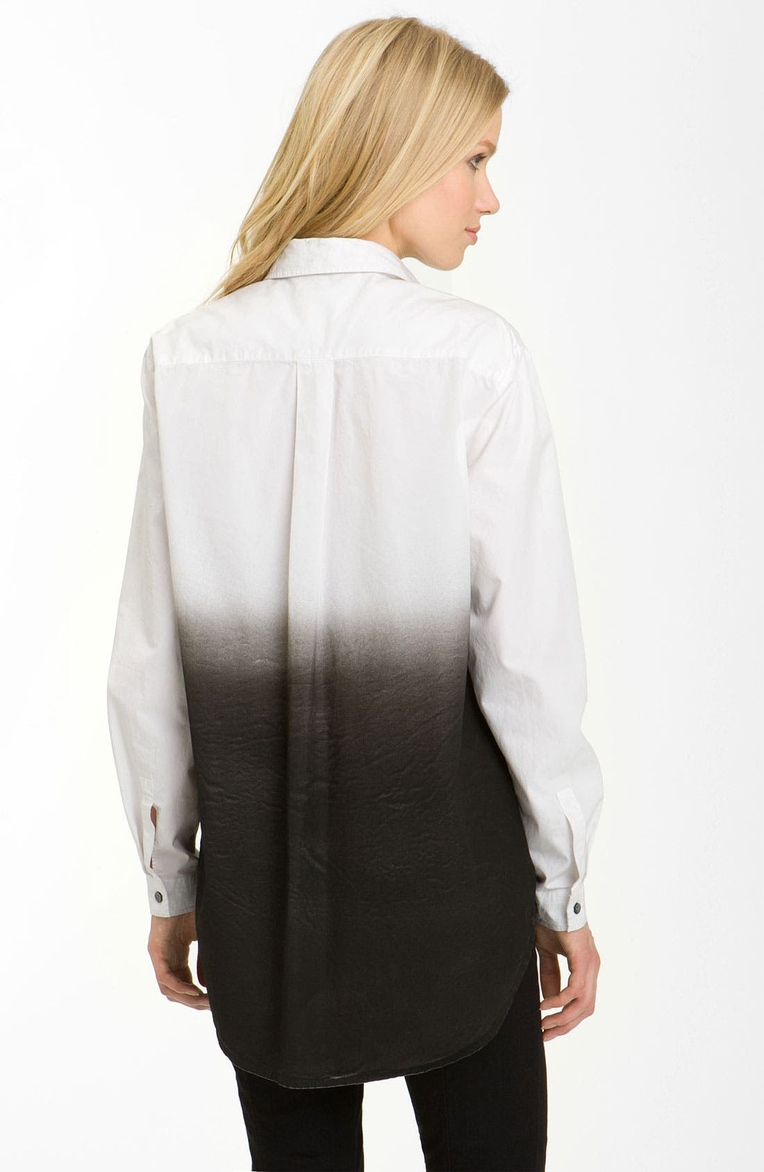 Alternate Image 2  - Pierre Balmain Ombré Shirtdress