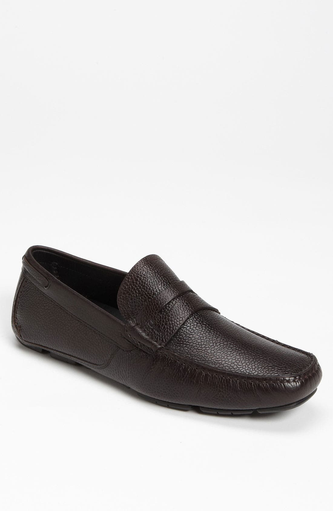 Alternate Image 1 Selected - Salvatore Ferragamo 'Billy 2' Driving Moccasin
