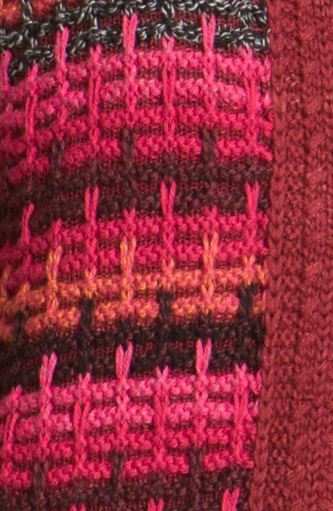 Alternate Image 3  - Nic + Zoe Stripe Cardigan with Detachable Collar