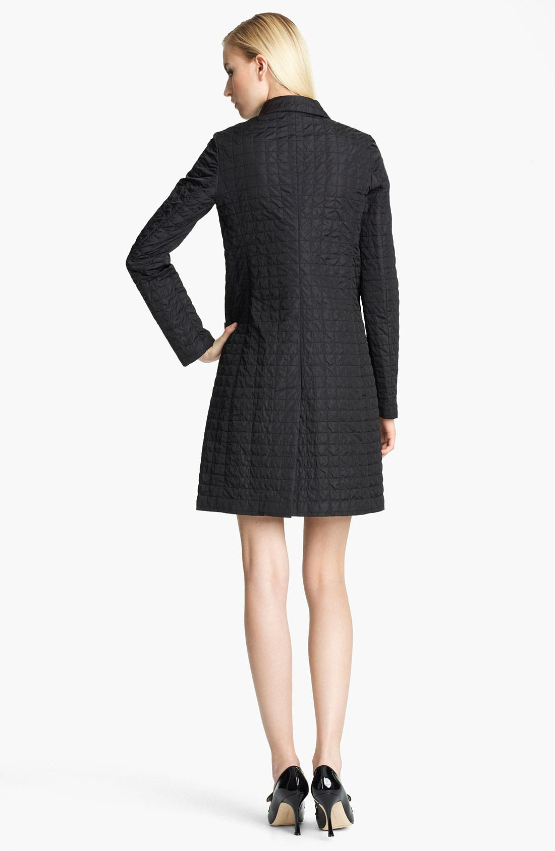 Alternate Image 2  - Jil Sander Navy Quilted Coat