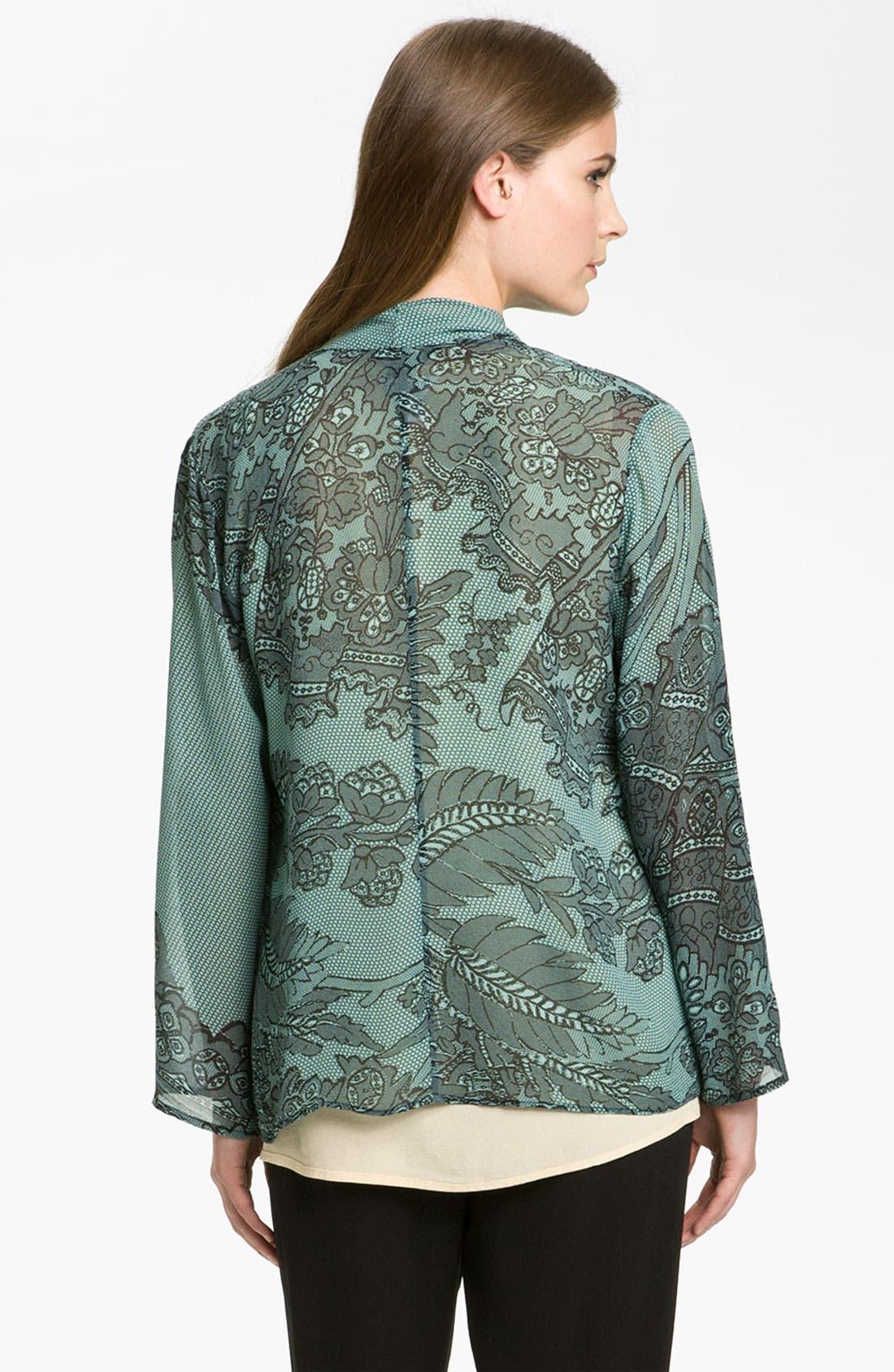 Alternate Image 2  - Citron Asymmetrical Silk Tunic