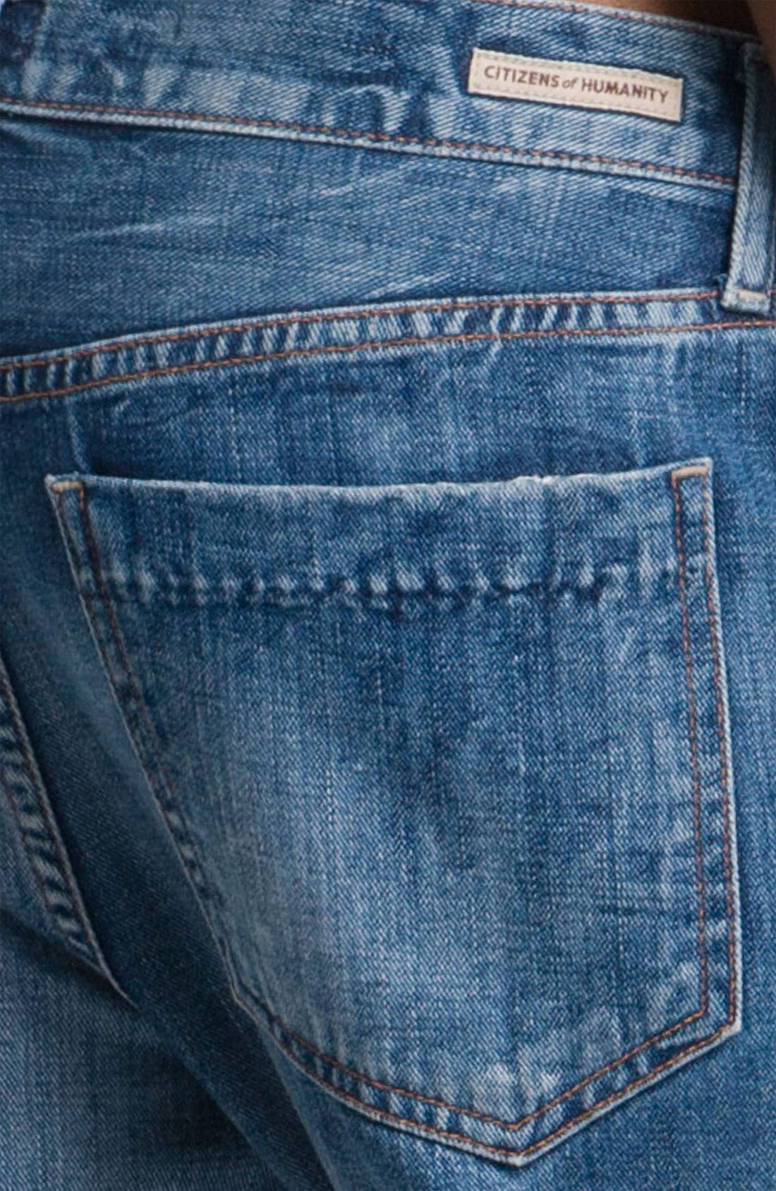 Alternate Image 3  - Citizens of Humanity 'Daisy' Crop Loose Fit Jeans (Plunge)
