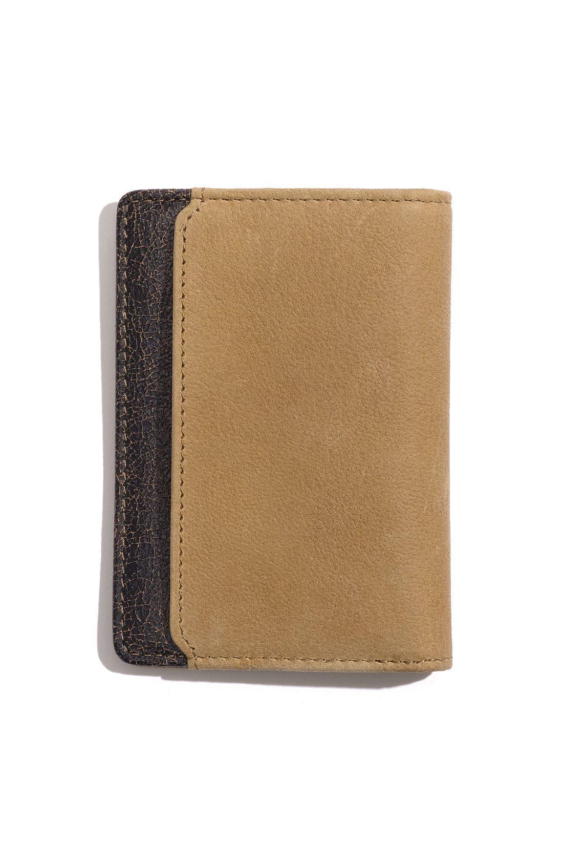 Alternate Image 1 Selected - Boconi 'Leon - Slim' Leather Card Case