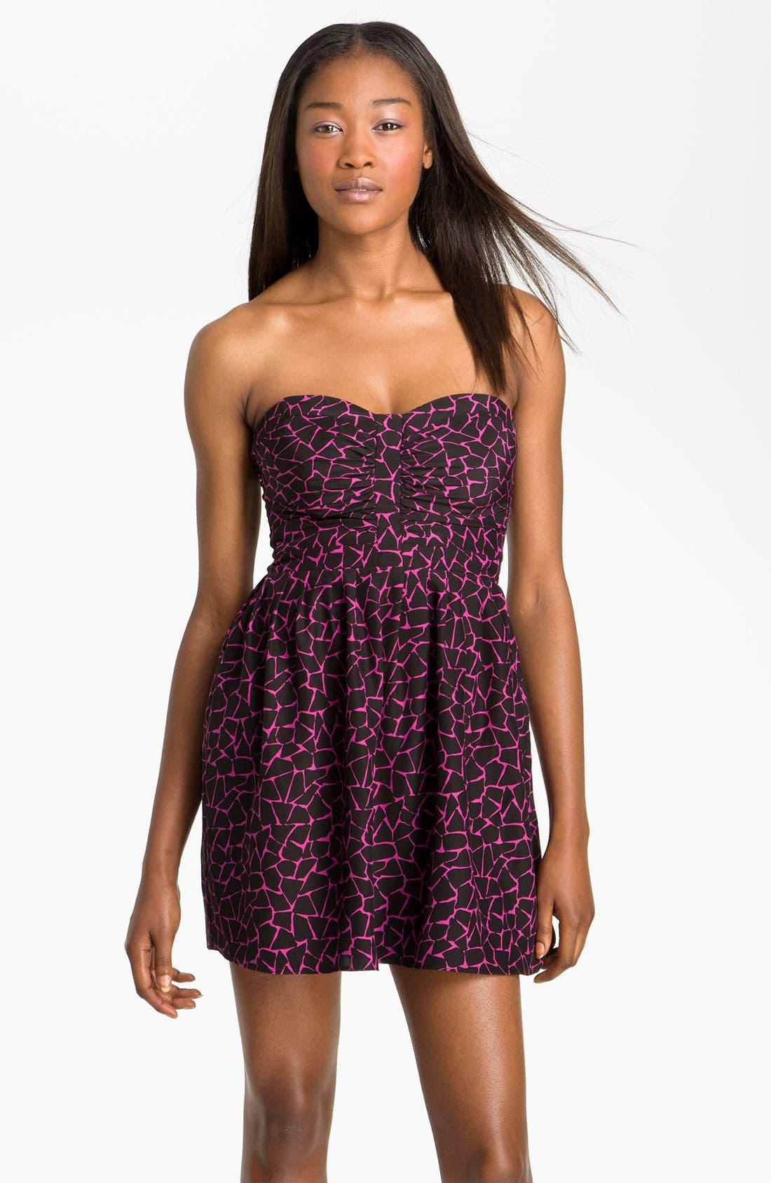 Alternate Image 1 Selected - Parker Ruched Strapless Dress