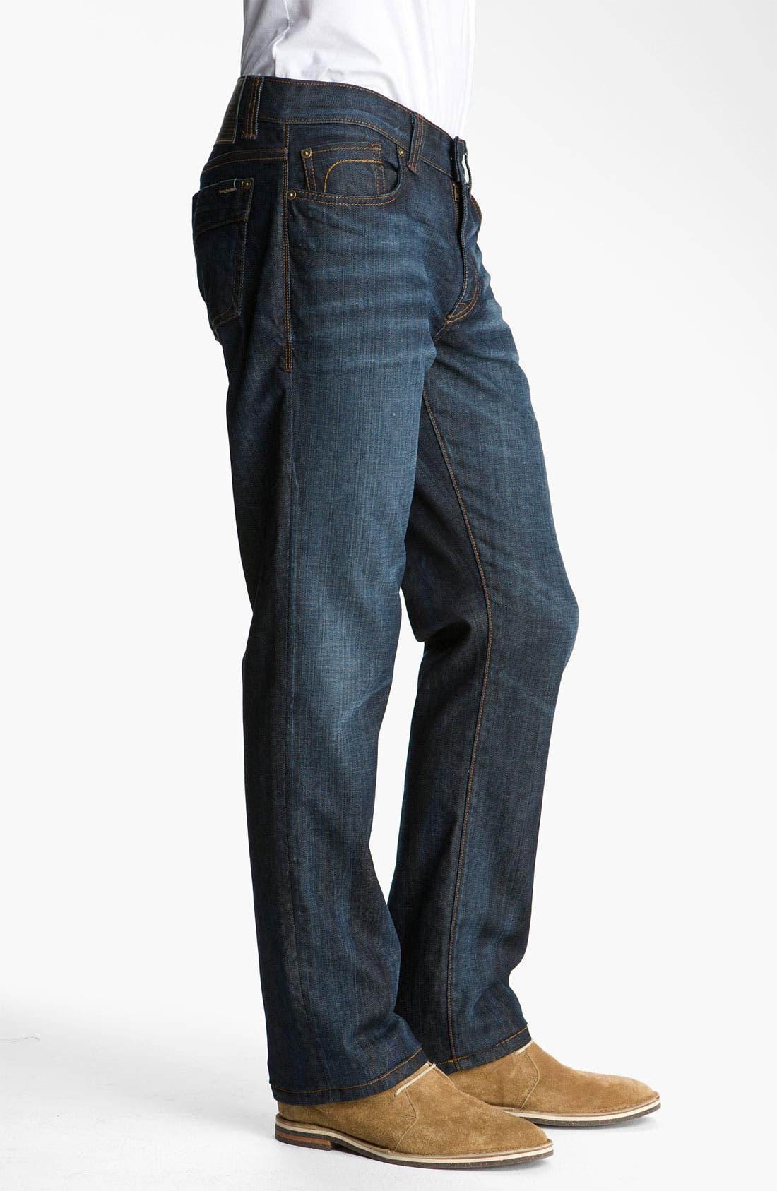 Alternate Image 3  - Fidelity Denim 'Impala' Slim Straight Leg Jeans (Altmont Dark Vintage)