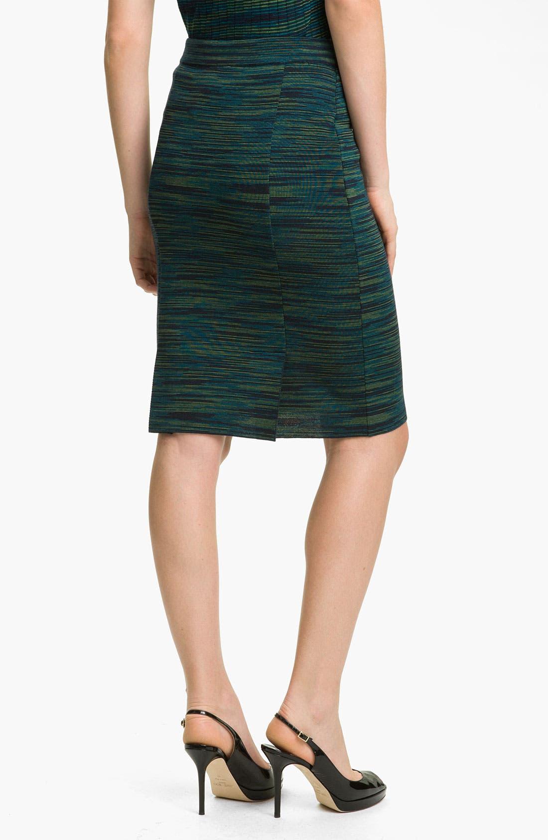 Alternate Image 2  - M Missoni Space Dye Pencil Skirt