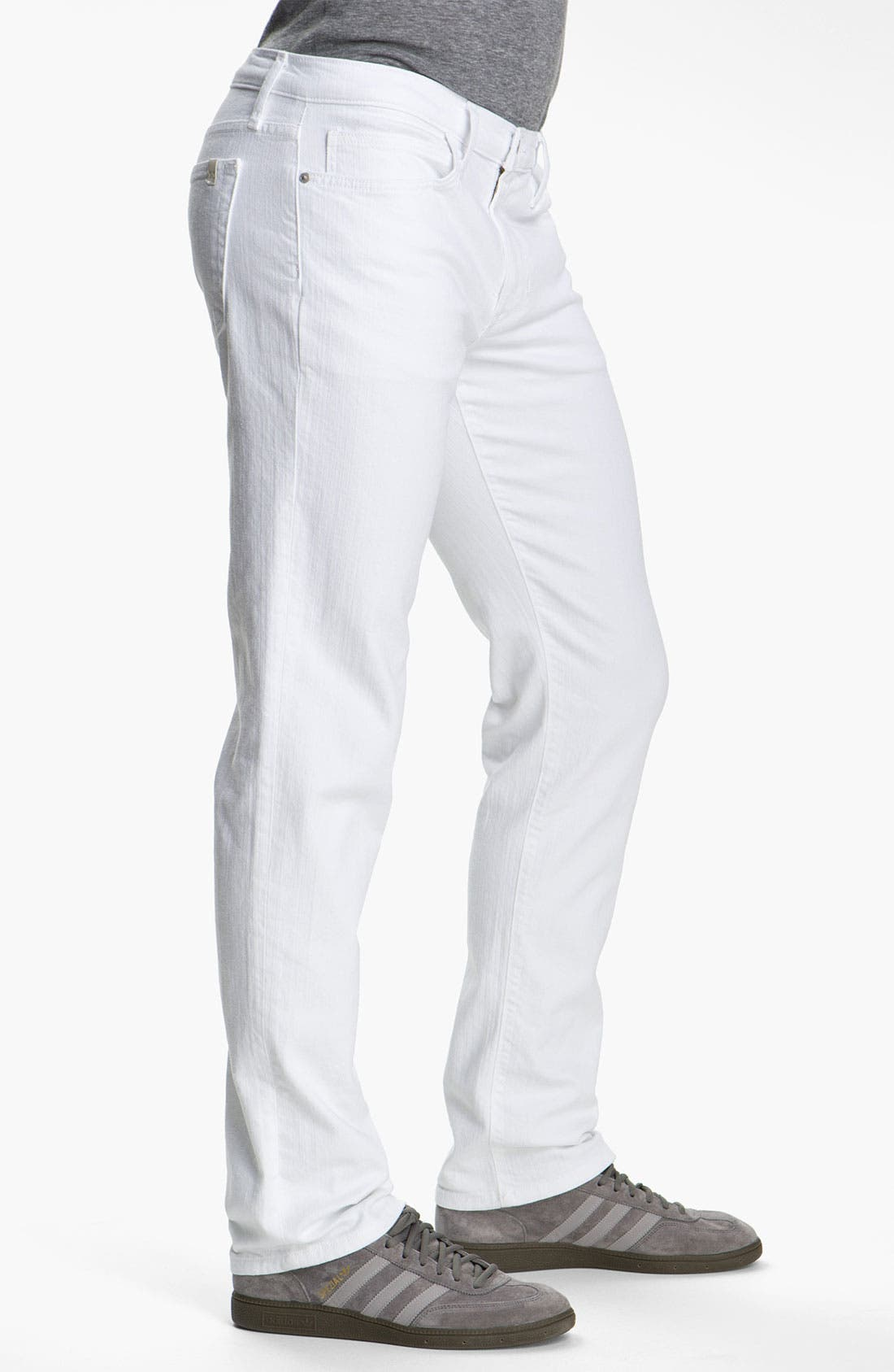 Alternate Image 3  - Joe's 'Brixton' Slim Straight Leg Jeans (Optic White)