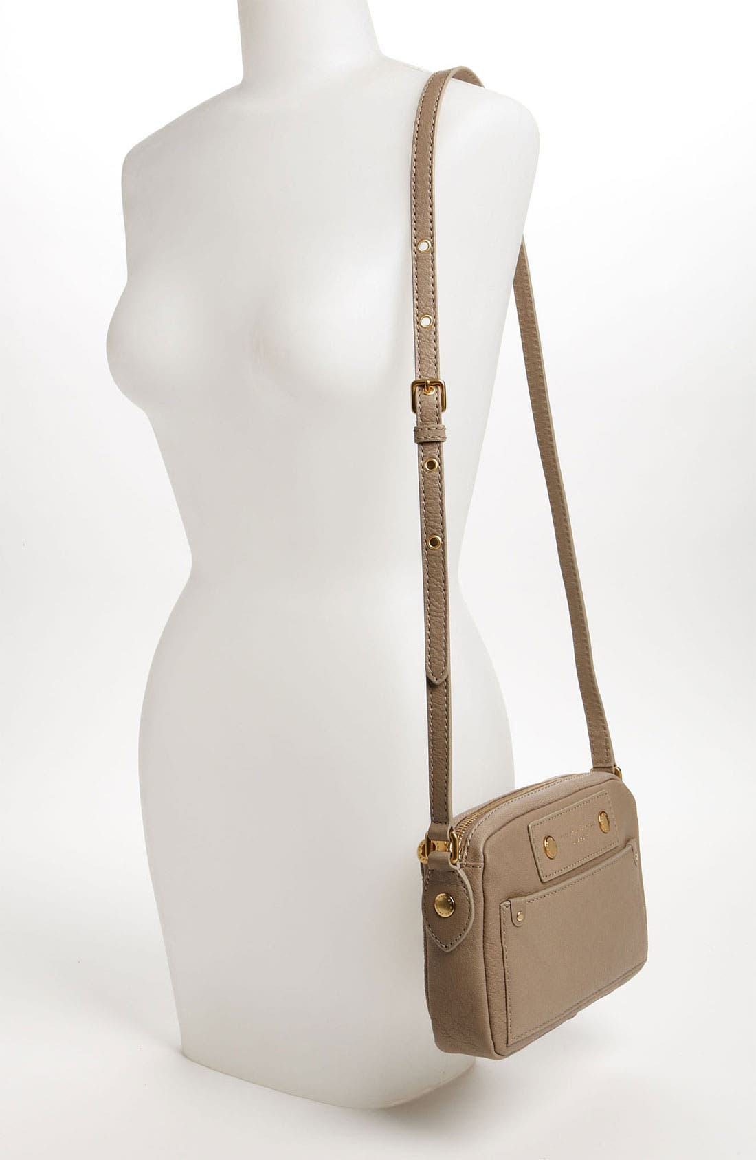 Alternate Image 2  - MARC BY MARC JACOBS 'Preppy - Camera' Leather Crossbody Bag