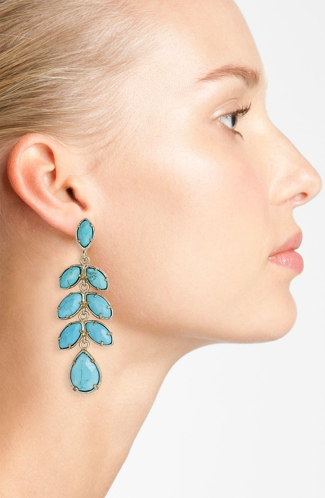 Alternate Image 2  - Kendra Scott 'Oralie' Statement Drop Earrings
