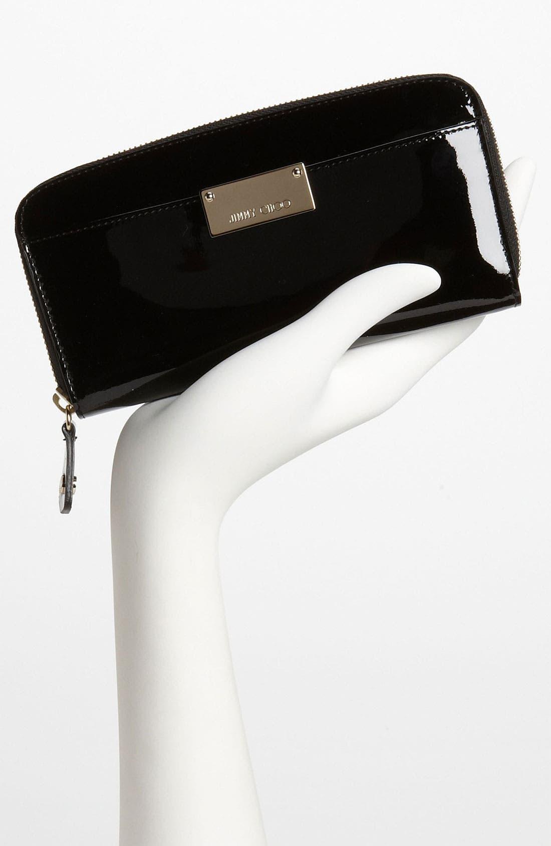 Alternate Image 2  - Jimmy Choo 'Rush' Patent Leather Wallet