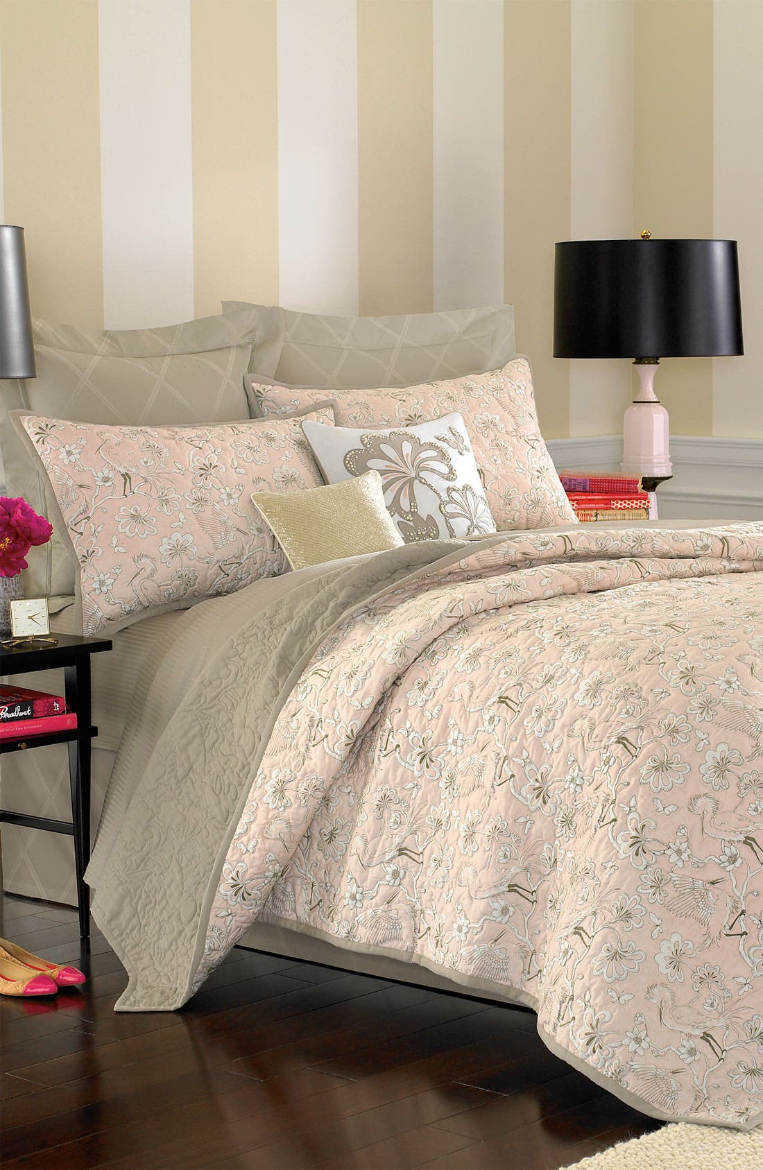 Alternate Image 4  - kate spade new york 'magnolia park' duvet cover