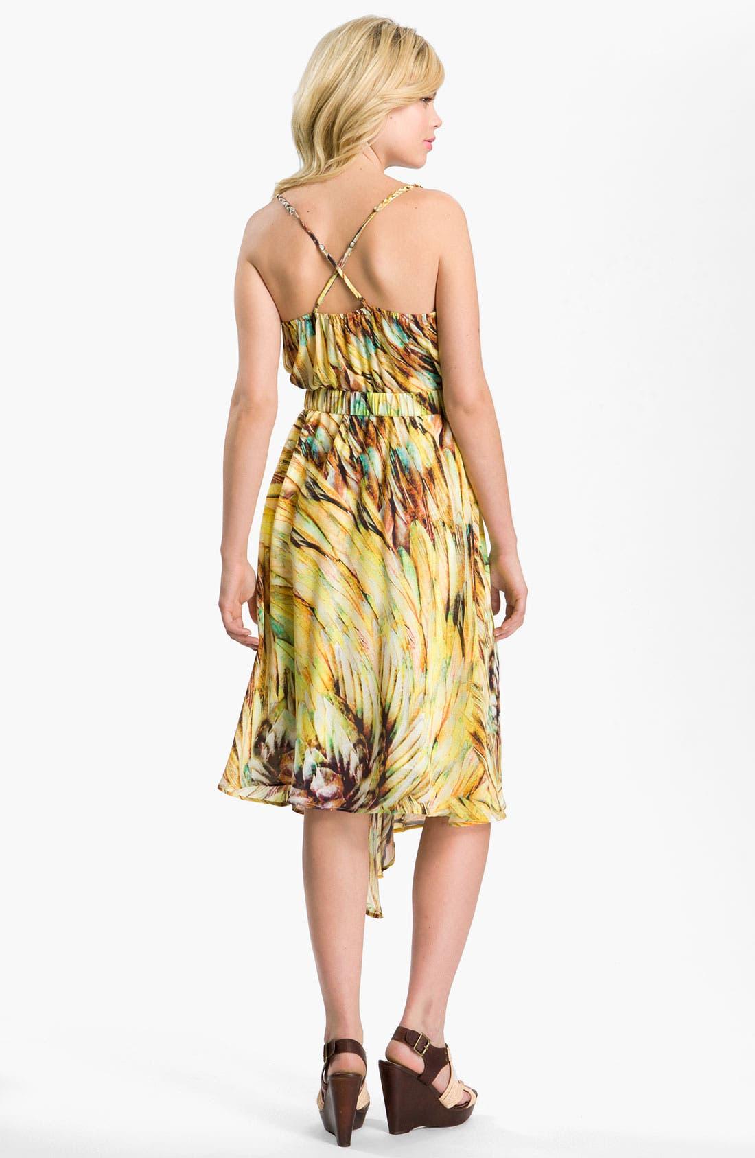 Alternate Image 2  - Charlie Jade Silk Surplice Dress