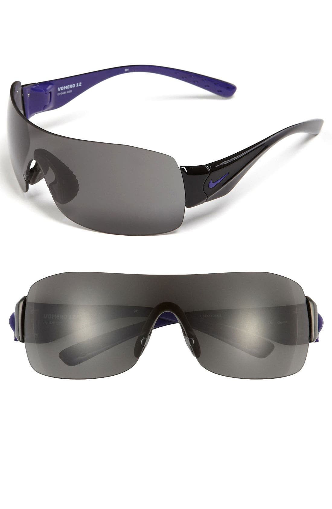 Main Image - Nike Rimless Shield Sunglasses