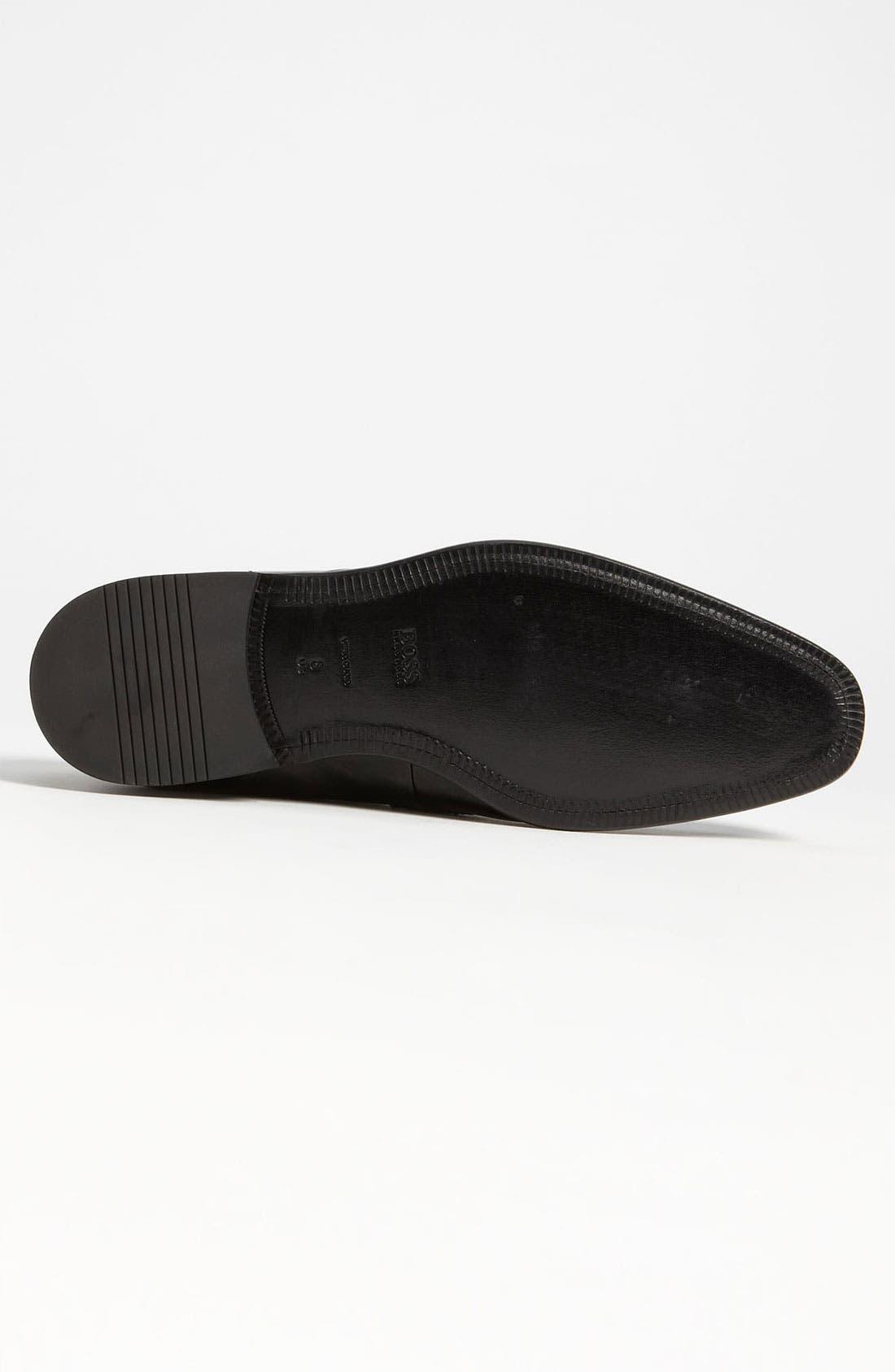 Alternate Image 4  - BOSS 'Mellion' Patent Loafer (Men)
