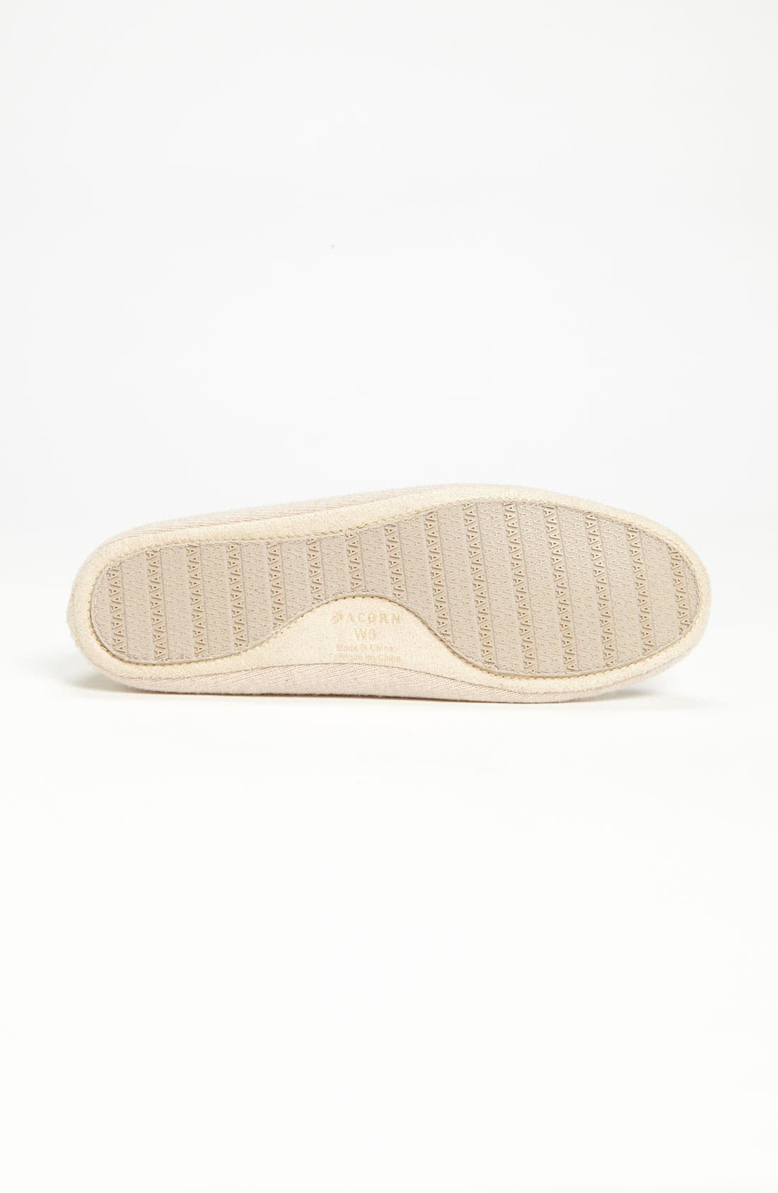 Alternate Image 4  - Acorn Cashmere Ballerina Slipper