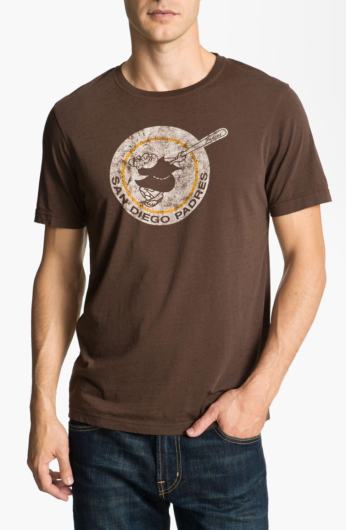 Alternate Image 1 Selected - Red Jacket 'Padres - Greenwood' T-Shirt