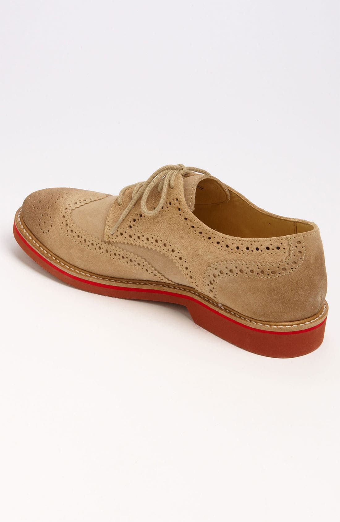 Alternate Image 2  - 1901 'Wing It' Suede Oxford