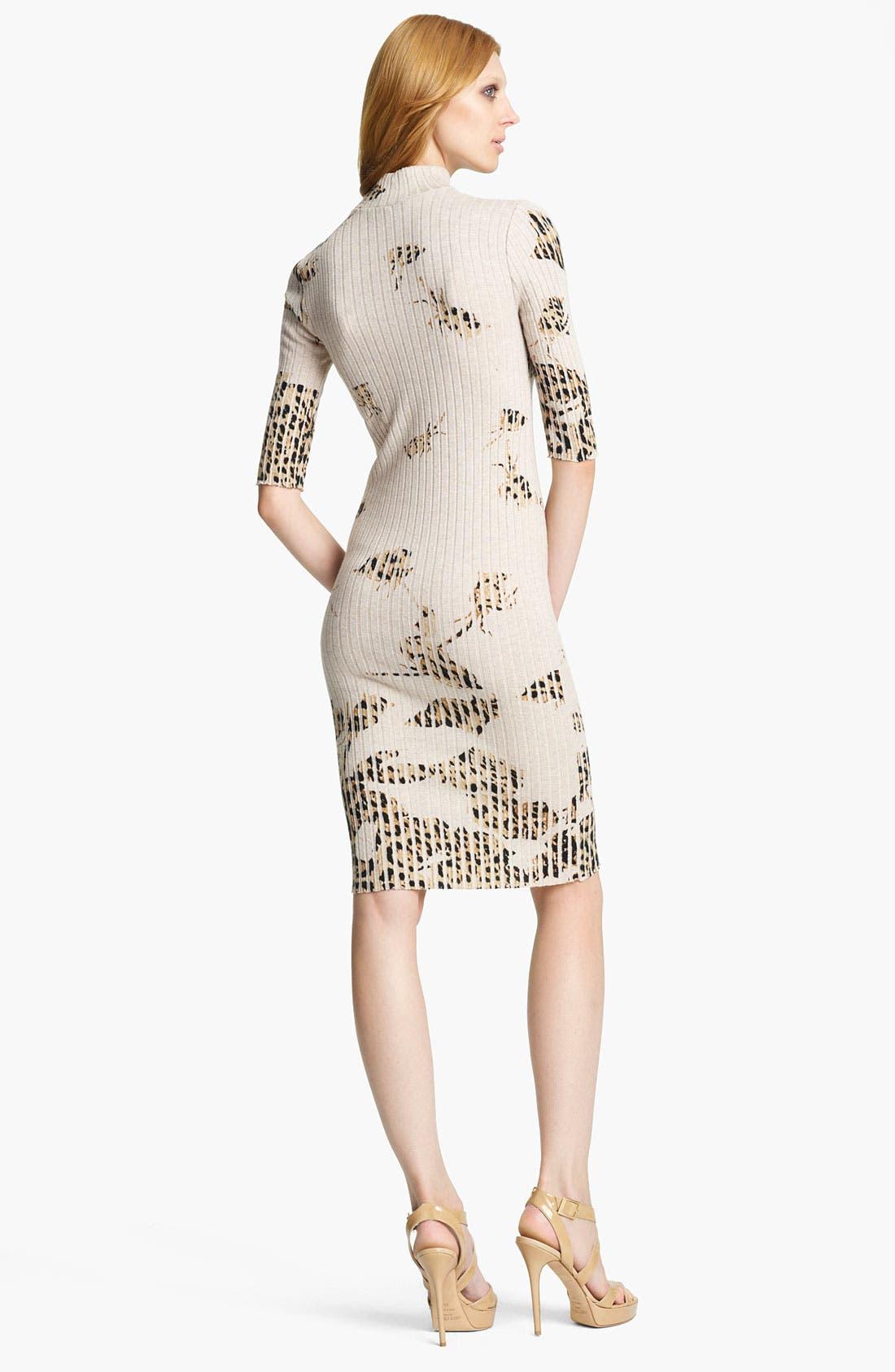 Alternate Image 2  - Blumarine Rib Knit Dress