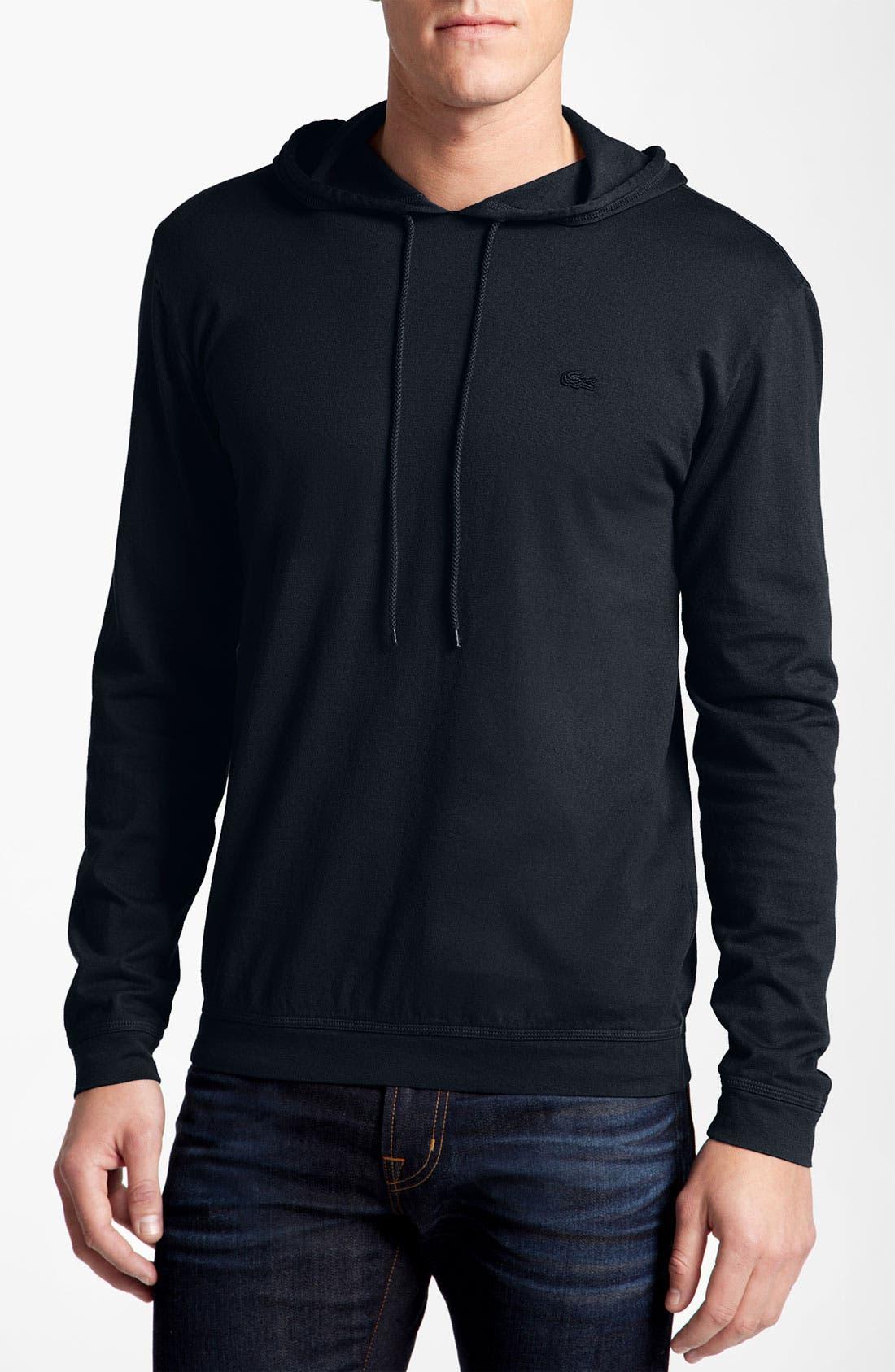 Alternate Image 1 Selected - Lacoste Long Sleeve Hoodie