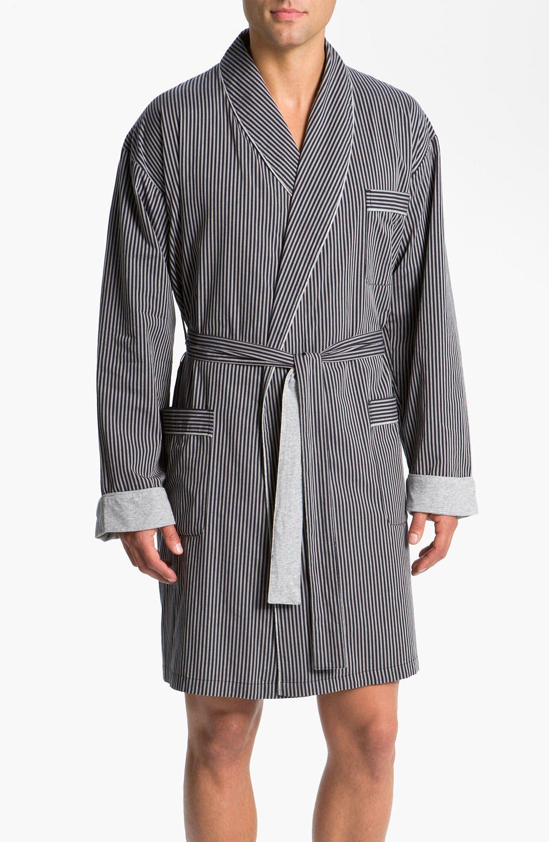 Main Image - Ike Behar Stripe Robe