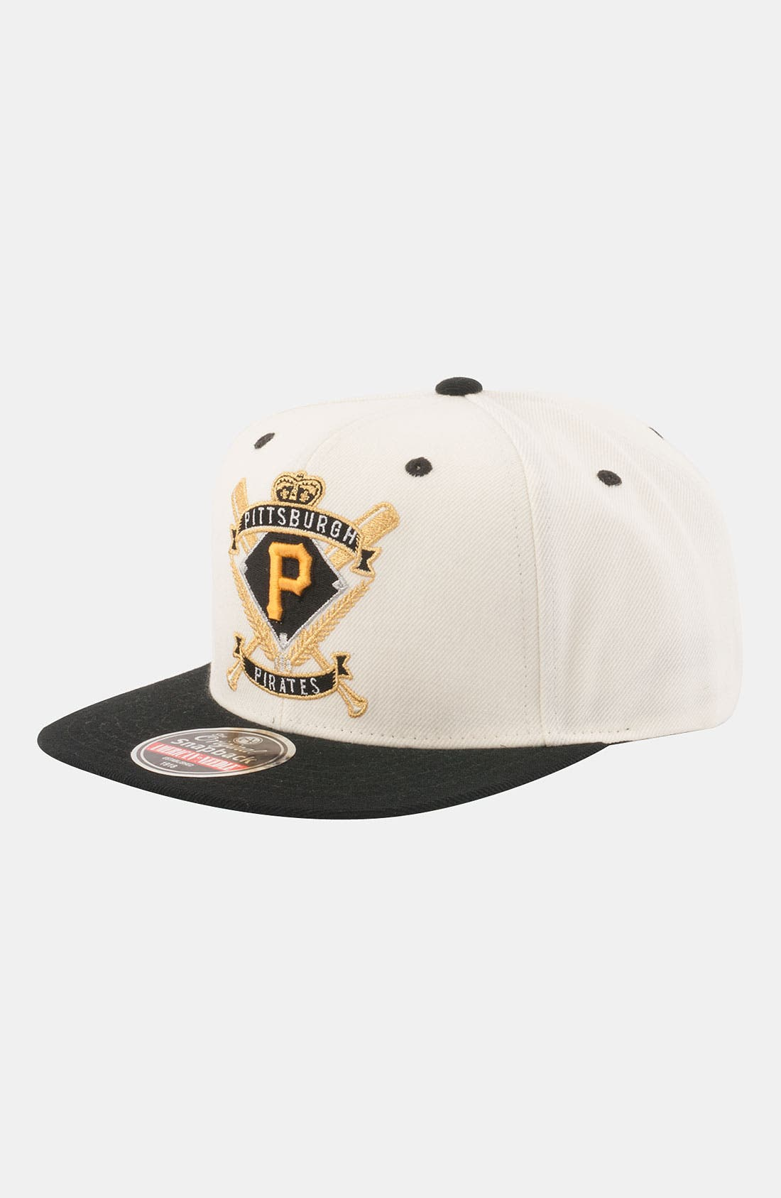 Alternate Image 1 Selected - American Needle 'Pittsburgh Pirates - Spirit Crest' Snapback Baseball Cap