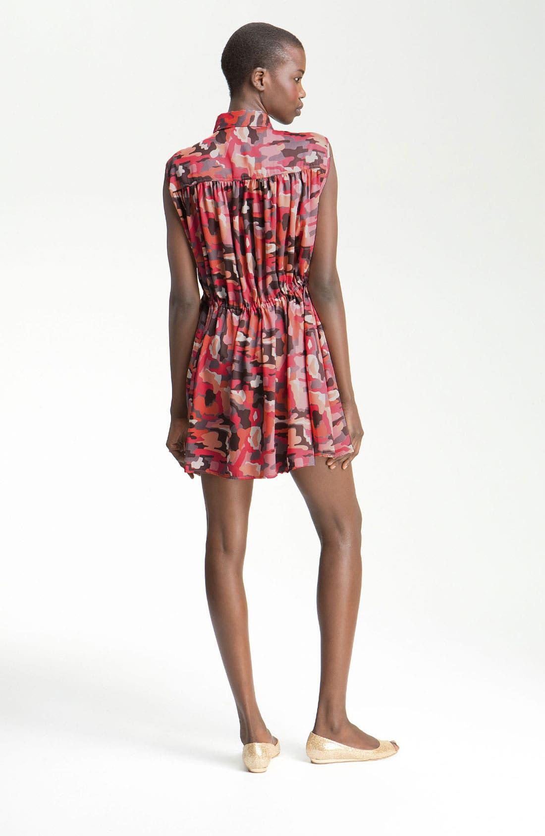 Alternate Image 2  - Thakoon Addition Camo Print Shirtdress