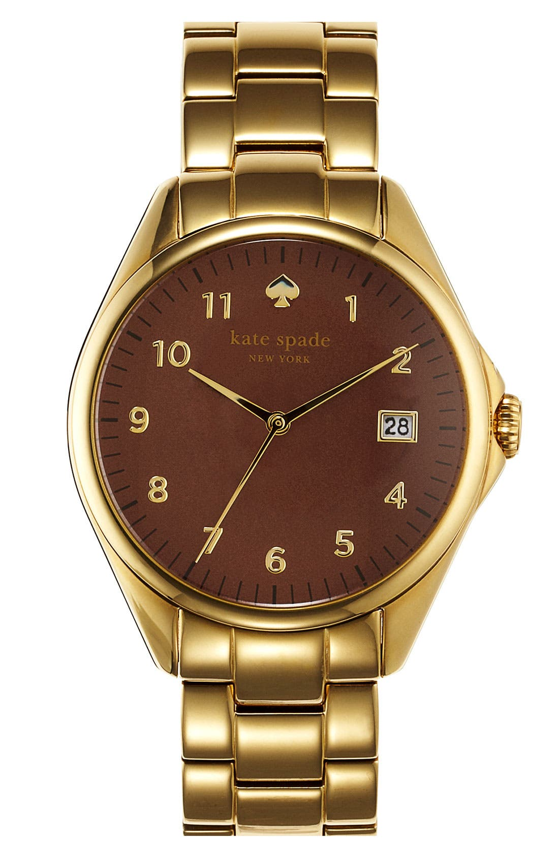 Main Image - kate spade new york 'seaport grand' bracelet watch, 38mm