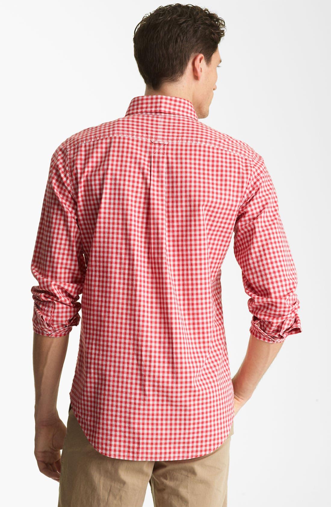 Alternate Image 2  - Jack Spade 'Kern' Gingham Sport Shirt