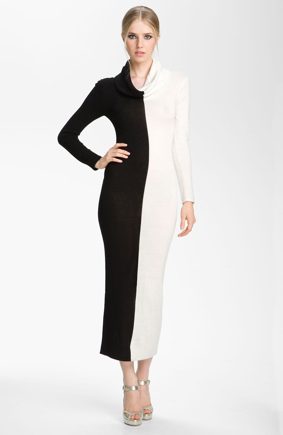 Alternate Image 1 Selected - Alice + Olivia 'Jori' Colorblock Maxi Dress